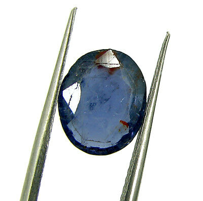 2.35 Ct Natural Blue Iolite / Neeli Oval Cut Loose Gemstone Stone - 7215
