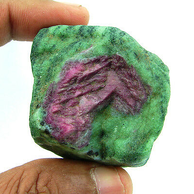 542.00 Ct Natural Ruby Zoisite / Anyolite Loose Gemstone Rough Specimen - 4431
