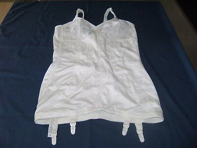 Playtex 18 Hour Open Corselette 42B Vintage