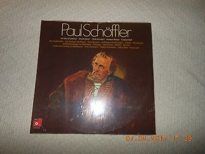 "12""  DoLP  PAUL SCHÖFFLER  NEU SEALED"