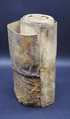 Beautiful ancient Egyptian Coptic period medical scroll