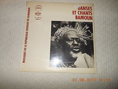 "12"" Danses Et Chants Bamoun   Cameroun  Neu Sealed"