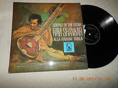 "12"" Ravi Shankar Sound Of The Sitar"
