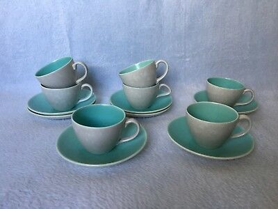 Poole Pottery Coffee Cups