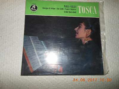 "12"" Maria Callas  Tosca  Neu Sealed"