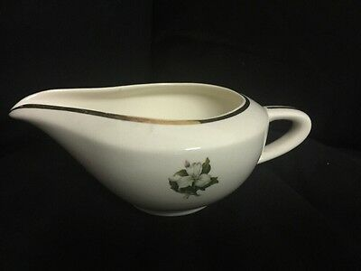 Vintage Gravy Boat TRILLIUM Glamour by American Limoges China Co.