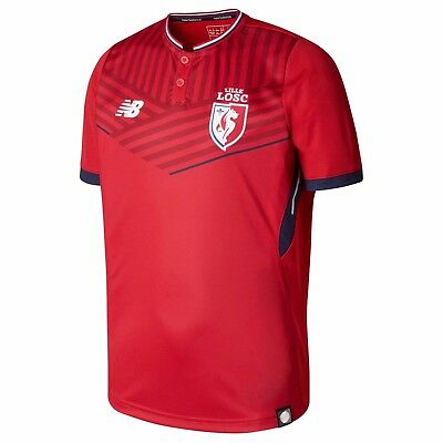 Adult M Lille Home Shirt 2017-18 M12