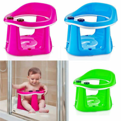 Baby Toddler Child Bath Support Seat BPA FREE Safety Bathing Dinning Play 3in1
