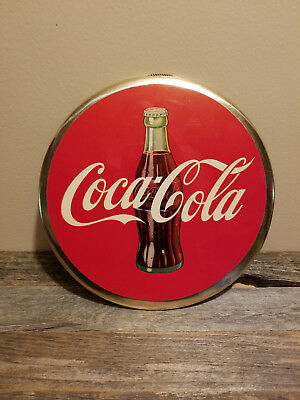 Vintage Coca-Cola Celluloid Sign
