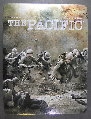 The Pacific Series (DVD, 2010, 6-Disc Set) Collectible Tin Case HBO TV