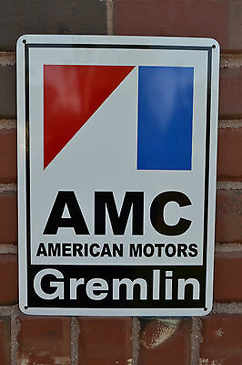 AMC Gremlin 72 American Motors Racing Sign Service Mechanic AMX Garage FreeShip