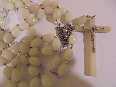 Large Bead --Glow-In-The-Dark--Rosaries--Italy