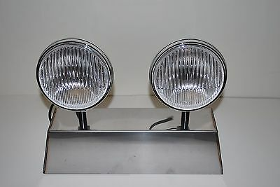 Porsche Hella 118 horn grill Fog light 911 912 as NOS, Pair of lights