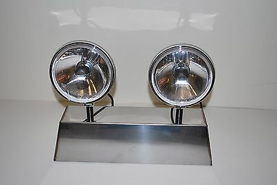 Porsche Hella 118 horn grill driving lights 911 912 as NOS, Pair