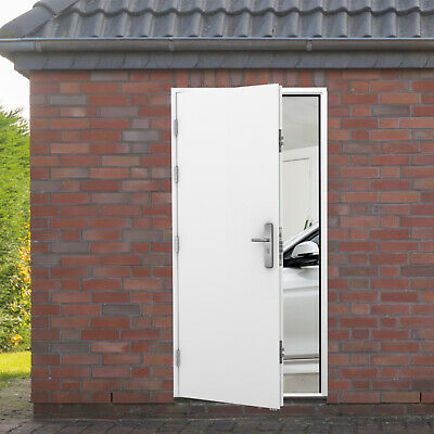 Security Steel Door - 19 Point Locking, Tack Room, Barn, Shed, Garage Side Doors