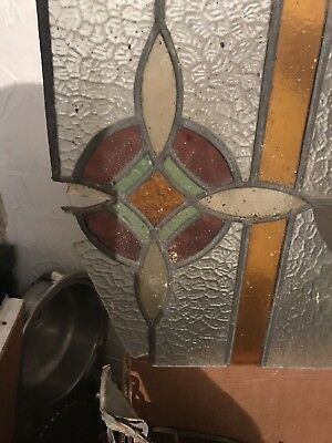 Stained Glass pieces with lead