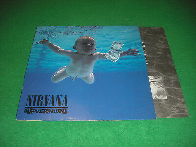 NIRVANA  -  NEVERMIND  -  LP GEFFEN RECORDS 1991  MADE in GERMANY