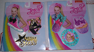 JoJo Siwa Adhesive Patches Bow Swagger & Star -Lot of 2 Packs