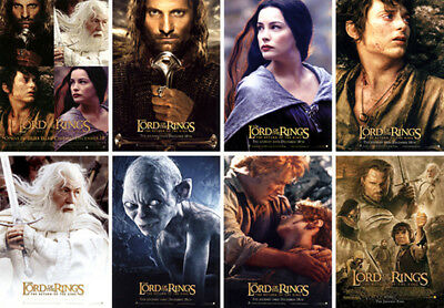 LOTR LORD OF THE RINGS The Return of The King Complete Postcard Set & More...