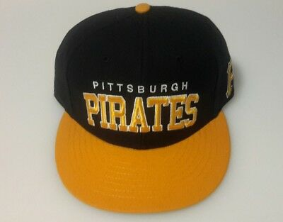 the best attitude f44de 91dcb MLB Pittsburgh Pirates 47 Brand Black Yellow Snapback Hat Cap