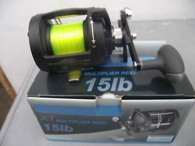 Shakespeare 'Tidewater' XT multiplier reel, with line