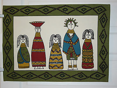 Poly Nation African Tea Towel Unused NEW
