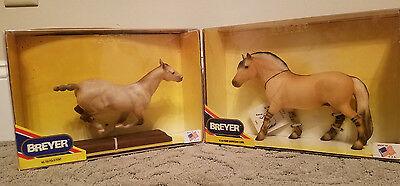Breyer Vintage NIB Lot - Polo Pony And Fjord
