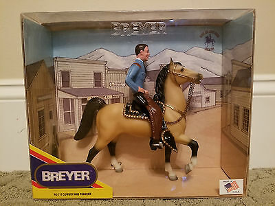 Breyer Cowboy and Prancer 717 NIB