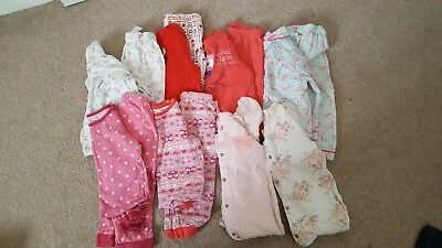girls pyjamas 12-18 months