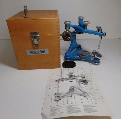 Type ARA Dentatus  Sweden Dental Articulator w/Wood Case