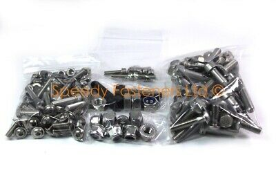 Project One Cadet Kart Complete Stainless Bolt Nut Washer Kit Chassis Wheel Hub