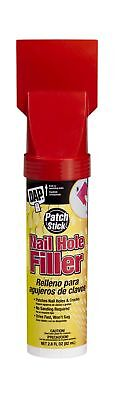 Dap 12324 Patch Stick Nail Hole and Crack Filler Exterior 2.8-Ounce 1 Pack