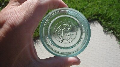 Stunning  C K Co  Fuirt Jar Lid Masons Impoved