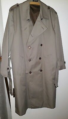 mens vintage trench coat / mac by marks & Spencer's size 42 inch chest immaculat