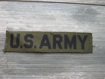 US Army Patch  60- 70-80 Jahre