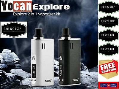 100% Authentic Yocan Explore Kit for Dry herbs or wax. 🇨🇦