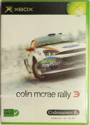 Jeu COLIN MCRAE RALLY 3 sur microsoft XBOX (First Gen) - complet wrc voitures 1