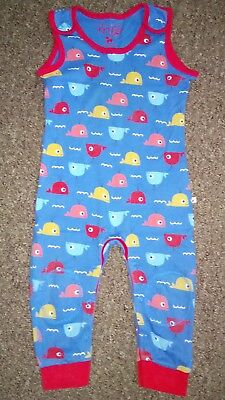fab FRUGI soft dungarees * 18-24 months * organic cotton * 12-18 mths