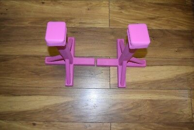 Gymnastic Pedestal / Gym / Handstand Blocks - 46 Cm Tall- Pink
