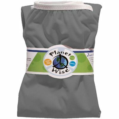 NIP Planet Wise Reusable Diaper Pail Liner - Slate