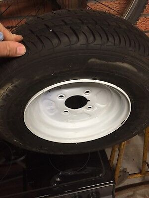 Jetski Trailer Wheel Rim And Tyre Brand New!!!