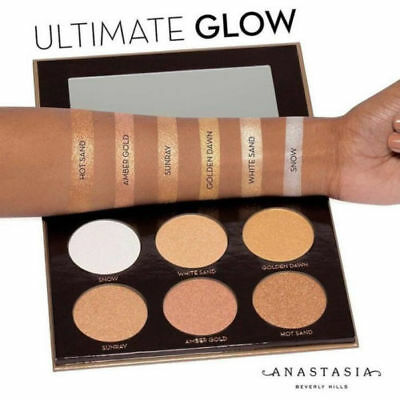 New Anastasia Beverly Hills Glow Kit Ultimate Glow Palette Highlighter Uk Stock