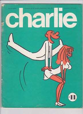 CHARLIE mensuel n° 11 editions du square 1969 BE