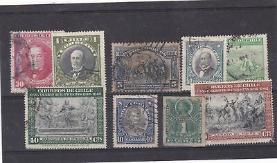 chile used stamps   Ref 9269