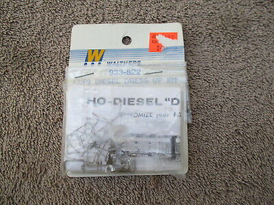 Walthers #933-822 HO Scaled F7/F9 Diesel Dress Up Kit Detail Parts Train Engine
