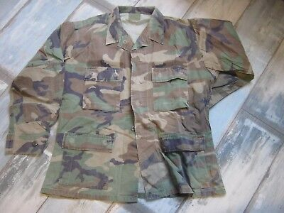 US Camoflage Woodland Hemd original Medium Regular gebraucht Vintage