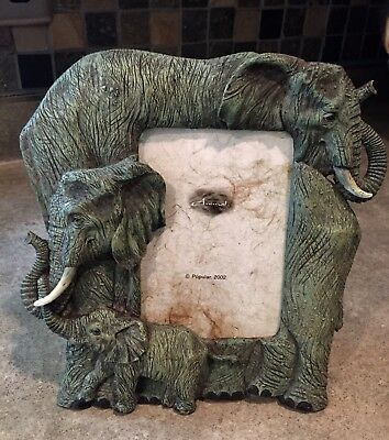 Brand New Elephant picture frame which holds  4x6 photo FREE SHIPPING!