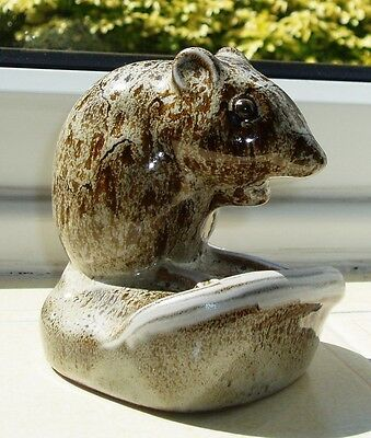 Pigeon Forge Pottery Pack Rat Signed D Ferguson