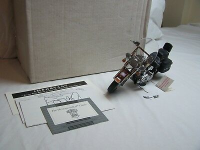 Franklin Mint Harley Davidson Hertitage Softail Classic 1.10 Scale Diecast Model