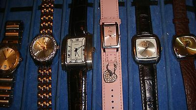 /trade Only Job Lot Of 10 X  Mixed Names  Watches 100% Gen <<<.,,//
